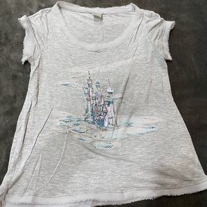 LC Lauren Conrad Cinderella Collection Castle Tee
